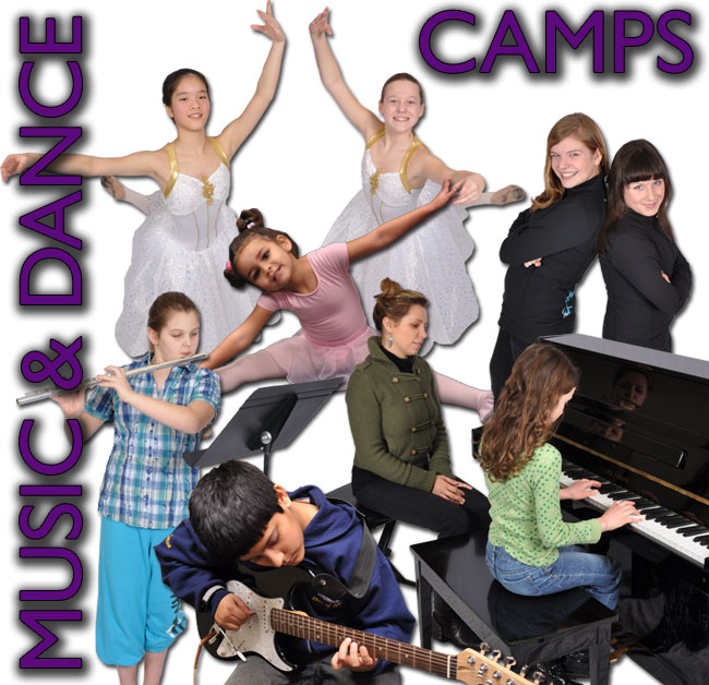 Music and Dance Camps - Surrey Langley White Rock BC